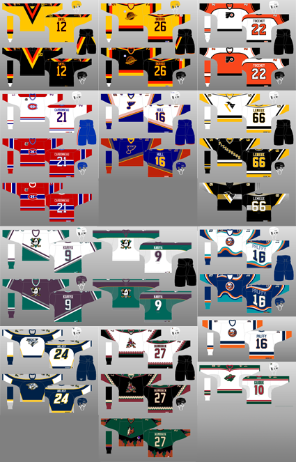 Daigneault jersey history