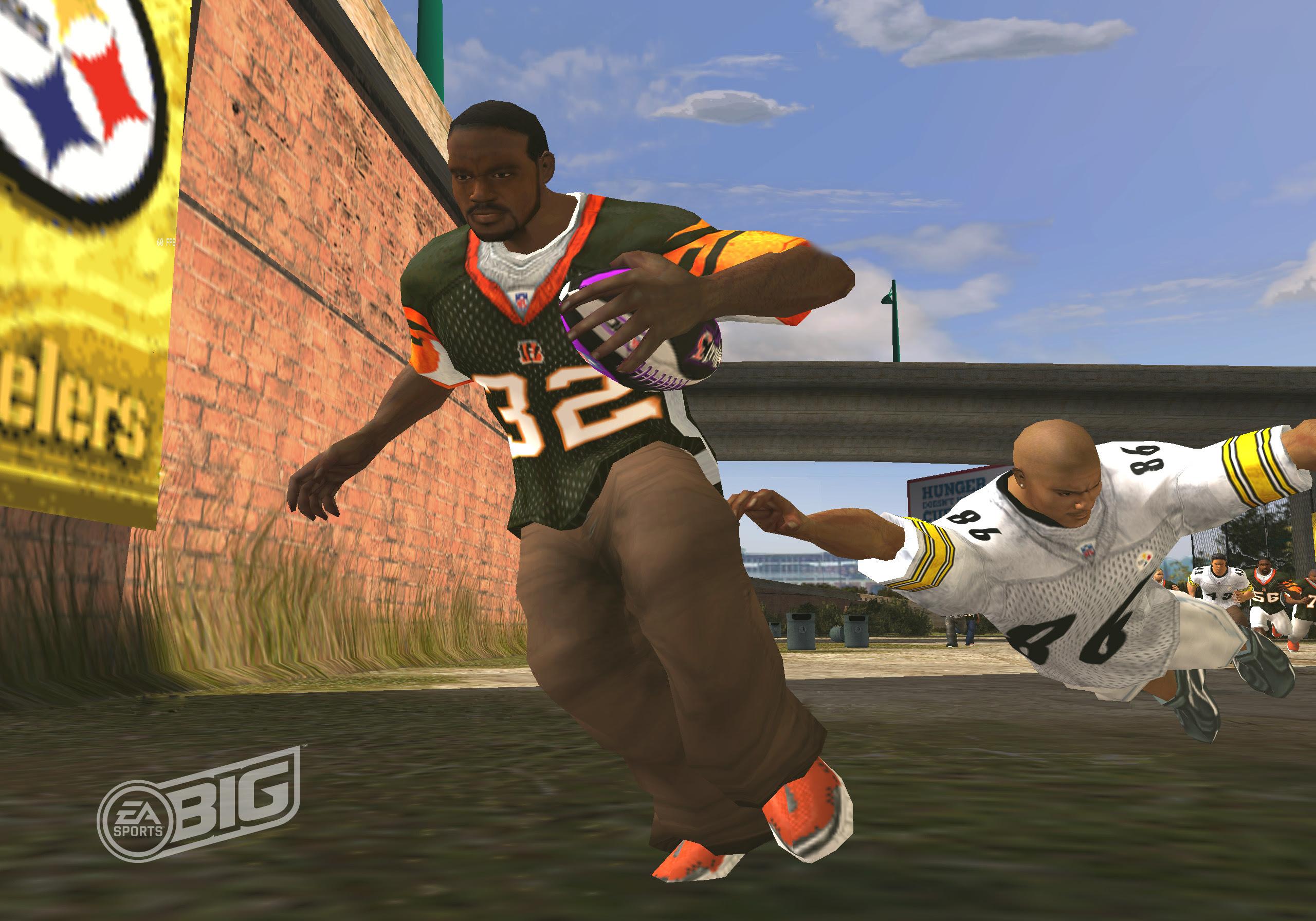 Screenshot image  NFL Street 3  Mod DB