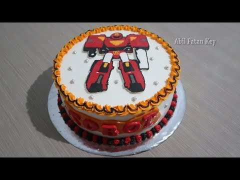 Kue Tart Karakter Ultraman 03 Kue Tart
