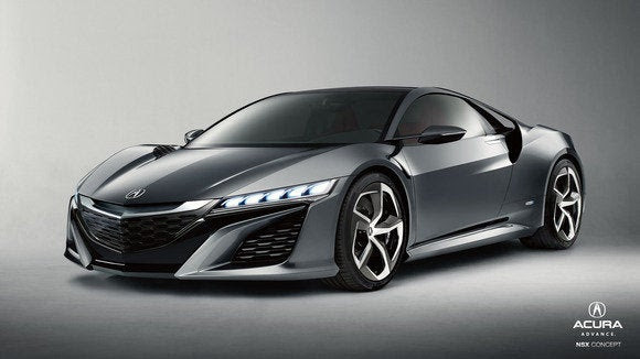 Acura NSX conceito jan 2014
