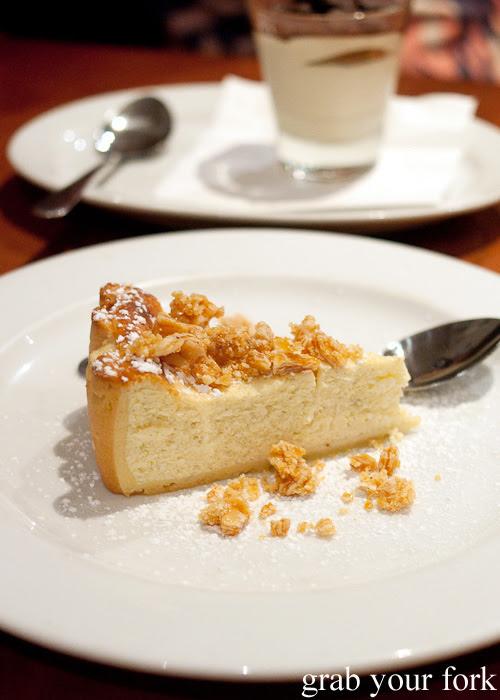 Baked Ricotta Cake Haberfield