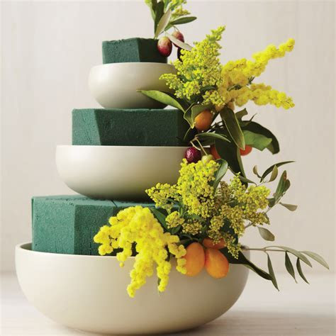 Tiered Bowl Wedding Centerpiece How To   Martha Stewart