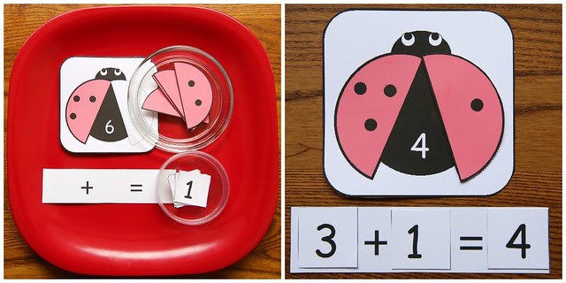 Ladybug Addition Activity