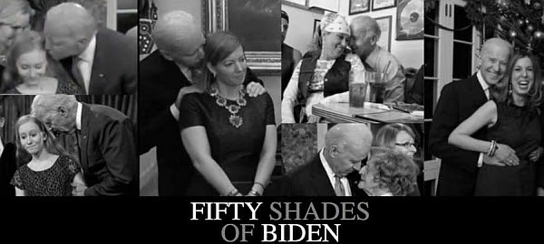 Fifty Shades of Biden meme