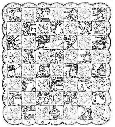 Primrose Design Nursery Rhyme Patterns