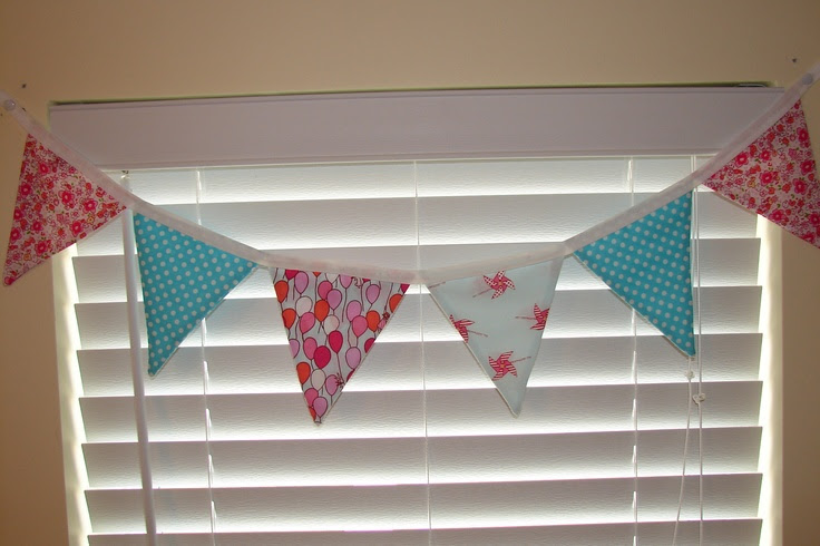 bunting for the boys rooms