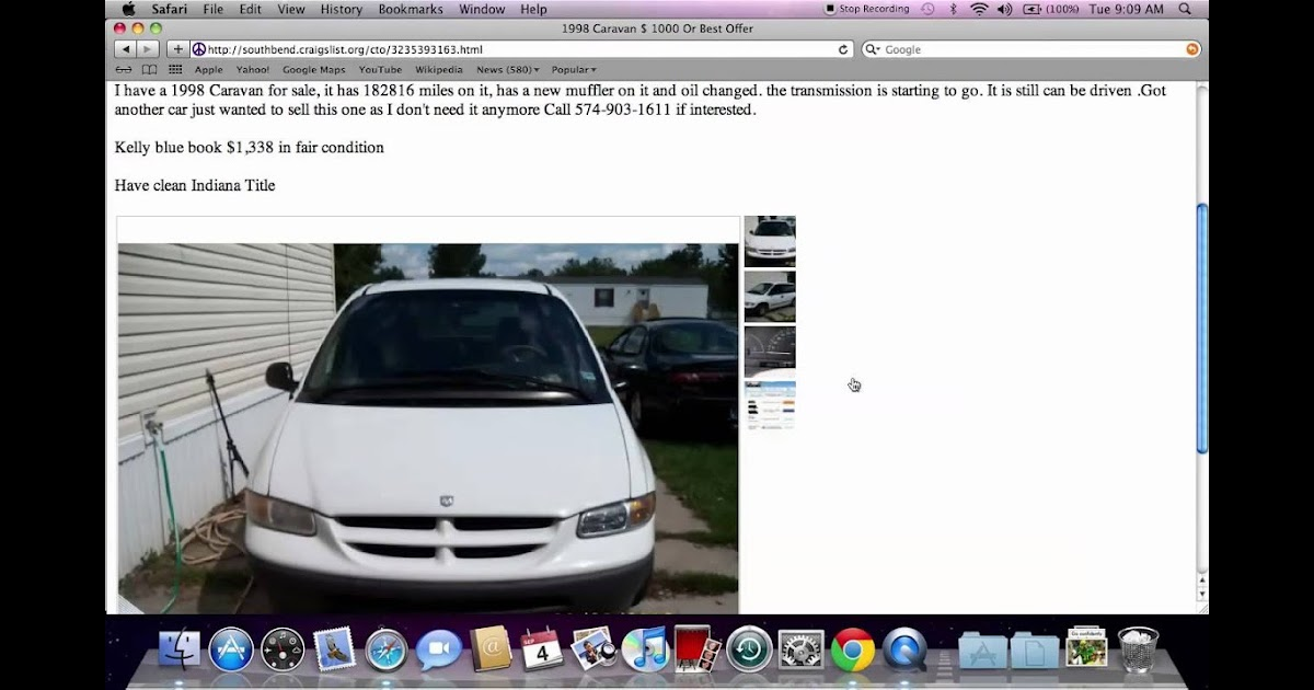 Craigslist Cars For Sale South Bend Indiana - Car Sale and ...