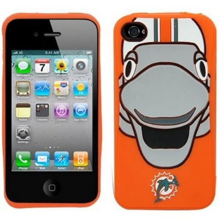 Refurbished NFL Miami Dolphins Mascot Soft Iphone Case