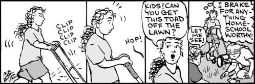 Home Spun comic strip #635