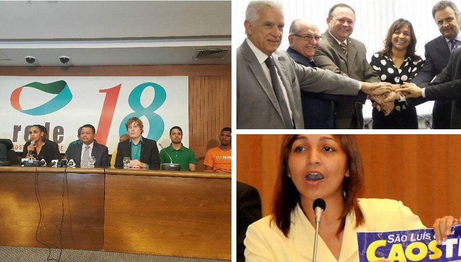 """Marina critica aliança de Eliziane com o Castelo: """"Só para ganhar o poder"""""""