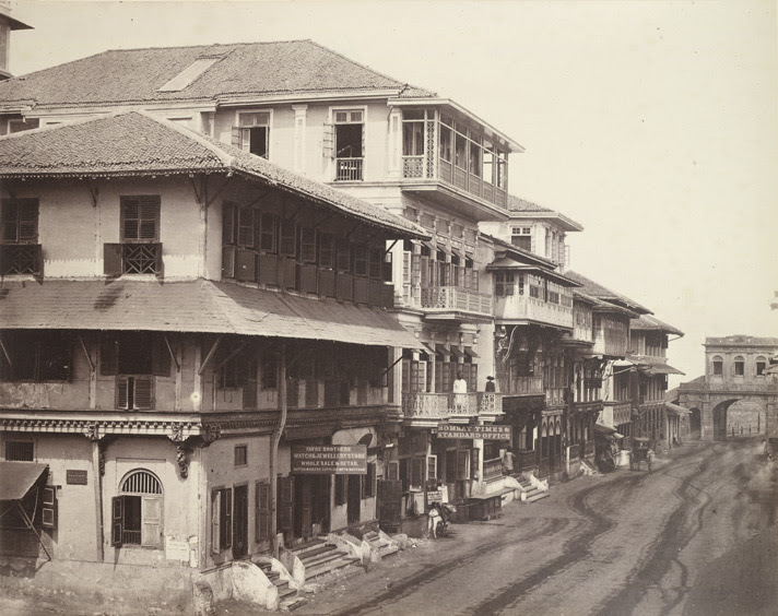 Church Gate Street, Bombay.