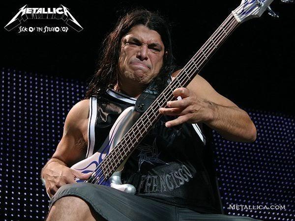 Robert Trujillo de Metallica revela su opinión sobre los bajistas anteriores de la banda
