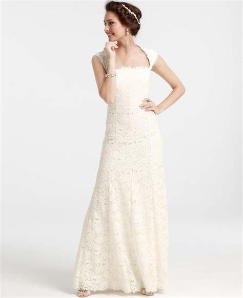 Ann Taylor Isabella lace wedding dress #282532 Size 3