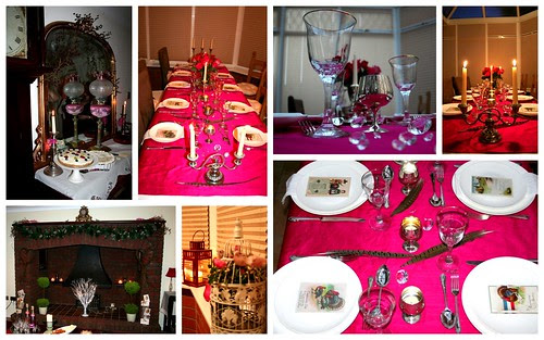 PINK Thanksgiving table