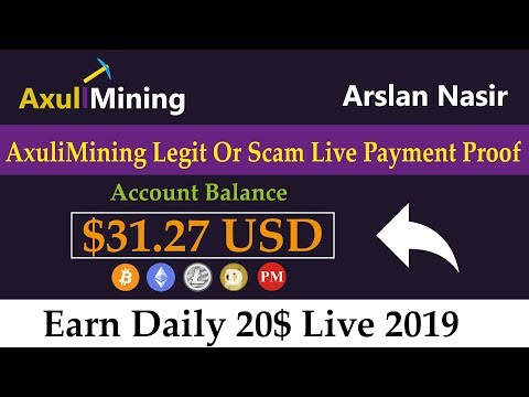 Axulimining Limited Free Bitcoin Mining Site Legit Or Scam Live -