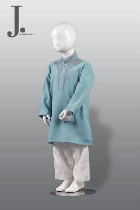 Kids-Child-Wear-Kurta-Shalwar-Kameez-New-Fashionable-Clothes-Collection-2013-by-Junaid-Jamshed-2