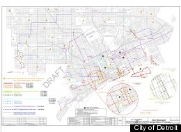 Detroit Bicycle Infrastructure