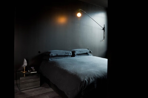 Black Painted Wall alluring black painted rooms 120 best black walls images on