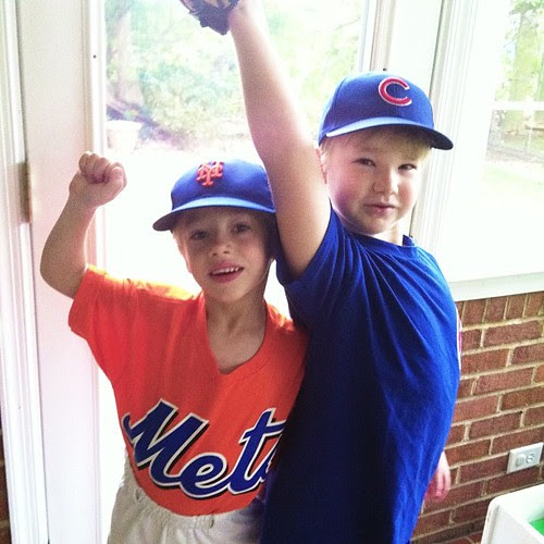 Opening day for the Mets and the Cubs...