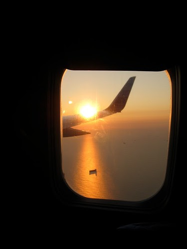 Sunrise from the seat