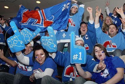 Nordiques fans