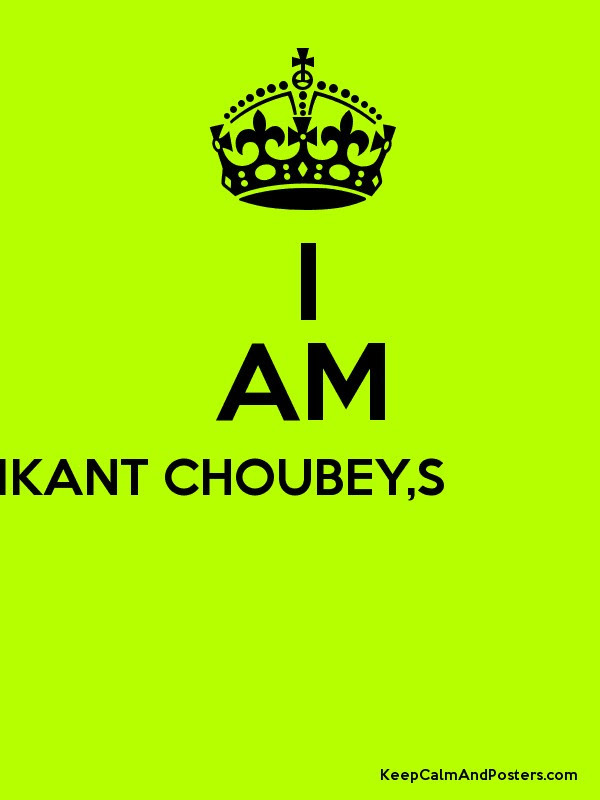 I Am Happy Without You Its Manikant Choubeys Attitude Keep Calm