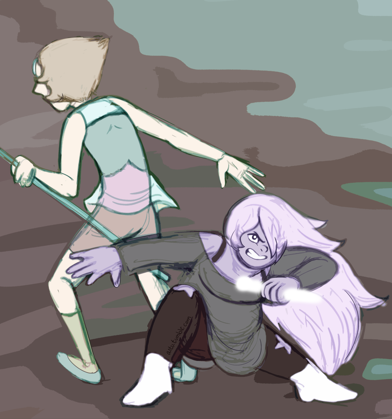 Positively Pearlmethyst Day 3: Protection/Teamwork