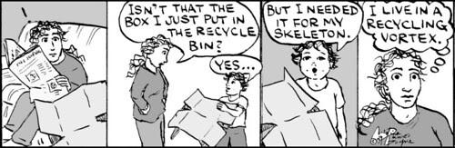 Home Spun comic strip #431