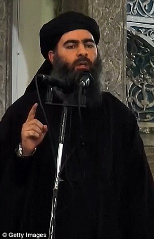 American humanitarian worker Kayla Mueller was repeatedly raped by Islamic State caliph Abu Bakr al-Baghdadi (pictured) before her death  in Syria earlier this year, her parents have revealed