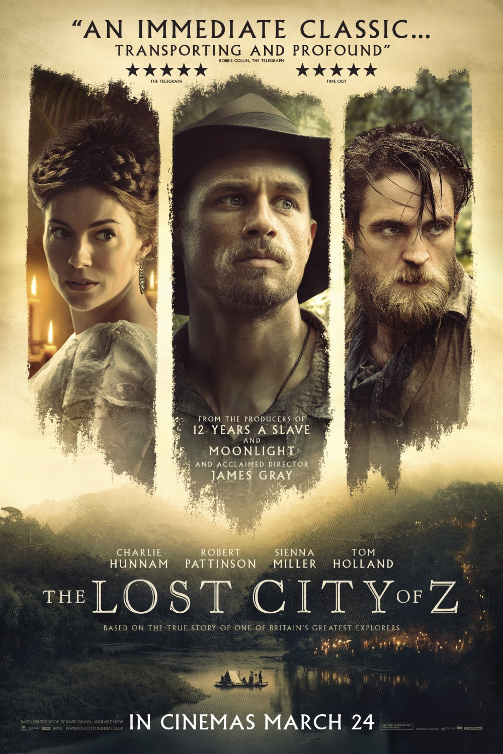 Resultado de imagem para movie poster the lost city of z