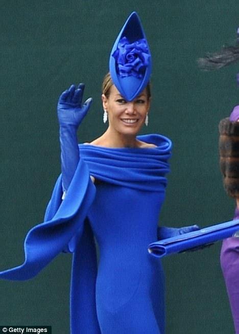Tara Palmer Tomkinson dress: Brilliant in blue at Royal