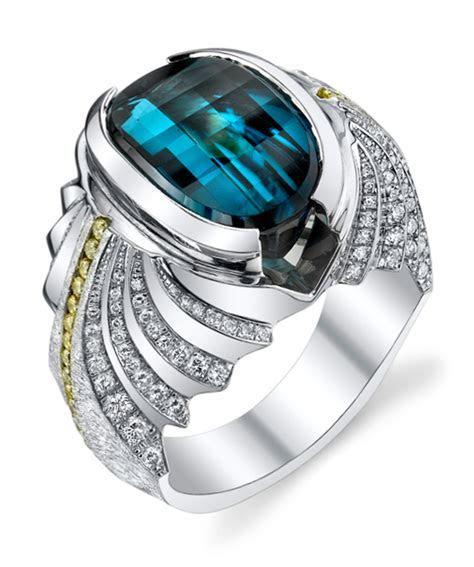 Neptune Gents Unique Ring   Diamond Anniversary Rings