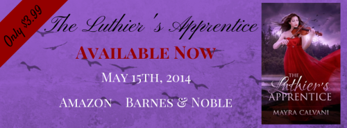 "Release Blitz: ""The Luthier's Apprentice"" by Mayra Calvani"