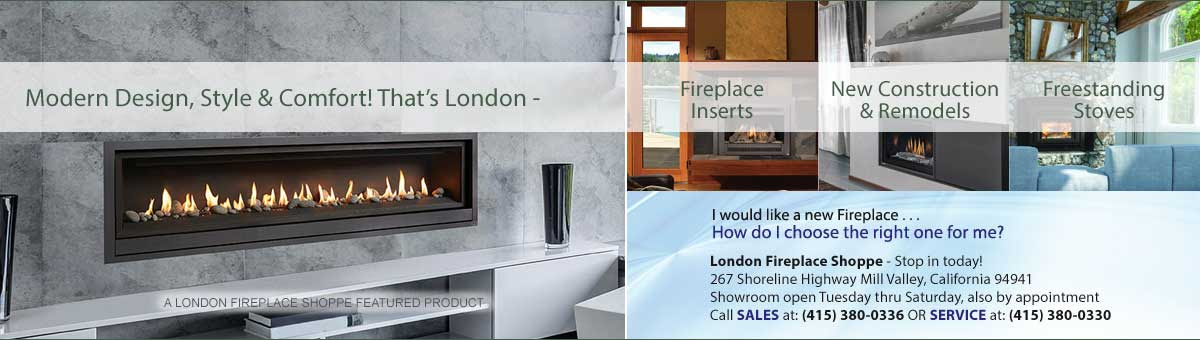 London Chimney Services And Fireplace Shoppe In San