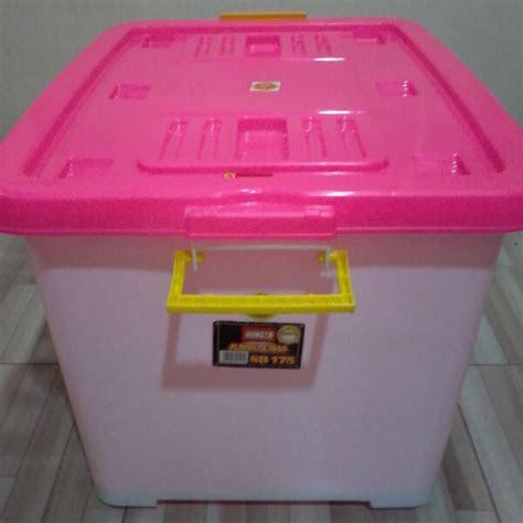 container plastik hongta  liter tampak pegangan