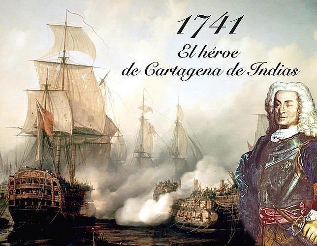 blas de lezo, historia, batallas, gestas, leyenda, mediohombre, guerra, mar, naval