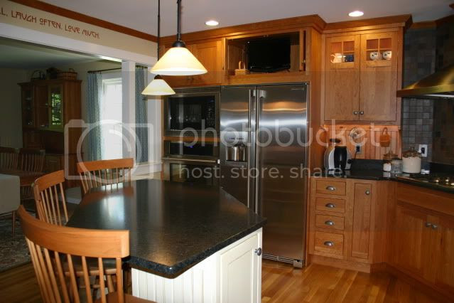 Post pics of your frigerator area - Kitchens Forum - GardenWeb