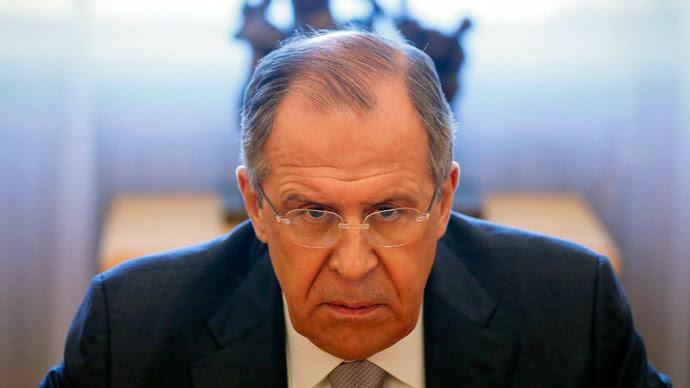 Russian Foreign Minister Sergei Lavrov.(Reuters / Maxim Shemetov)