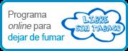 Programa online para Dejar de Fumar. Libre sin tabaco
