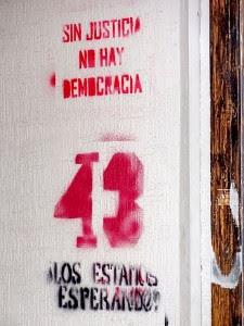 Un an depuis le début de l'affaire Ayotzinapa, activités à San Cristóbal de Las Casas, Chiapas © SIPAZ