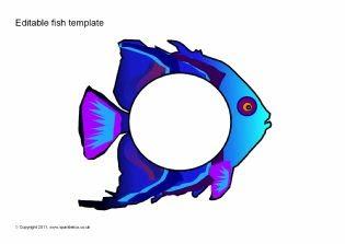 1000+ ideas about Fish Template on Pinterest   Rainbow fish ...