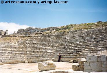 Arquitectura Griega: teatro griego