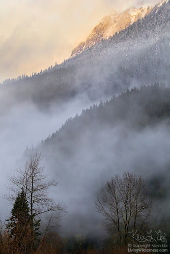 Storm on Sauk Mountain, North Cascades, Washington