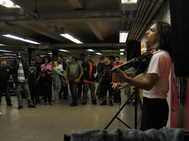 Violinist, Union Square