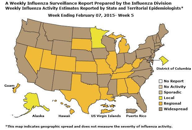 Geographic Spread of Influenza