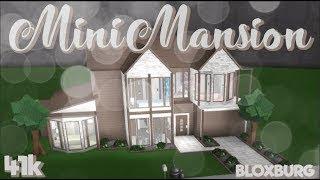 Bloxburg Modern Mansion 100k - modern house