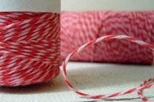 Image of Valentines Bakers Twine {Strawberry Cupcake Timeless Twine™}