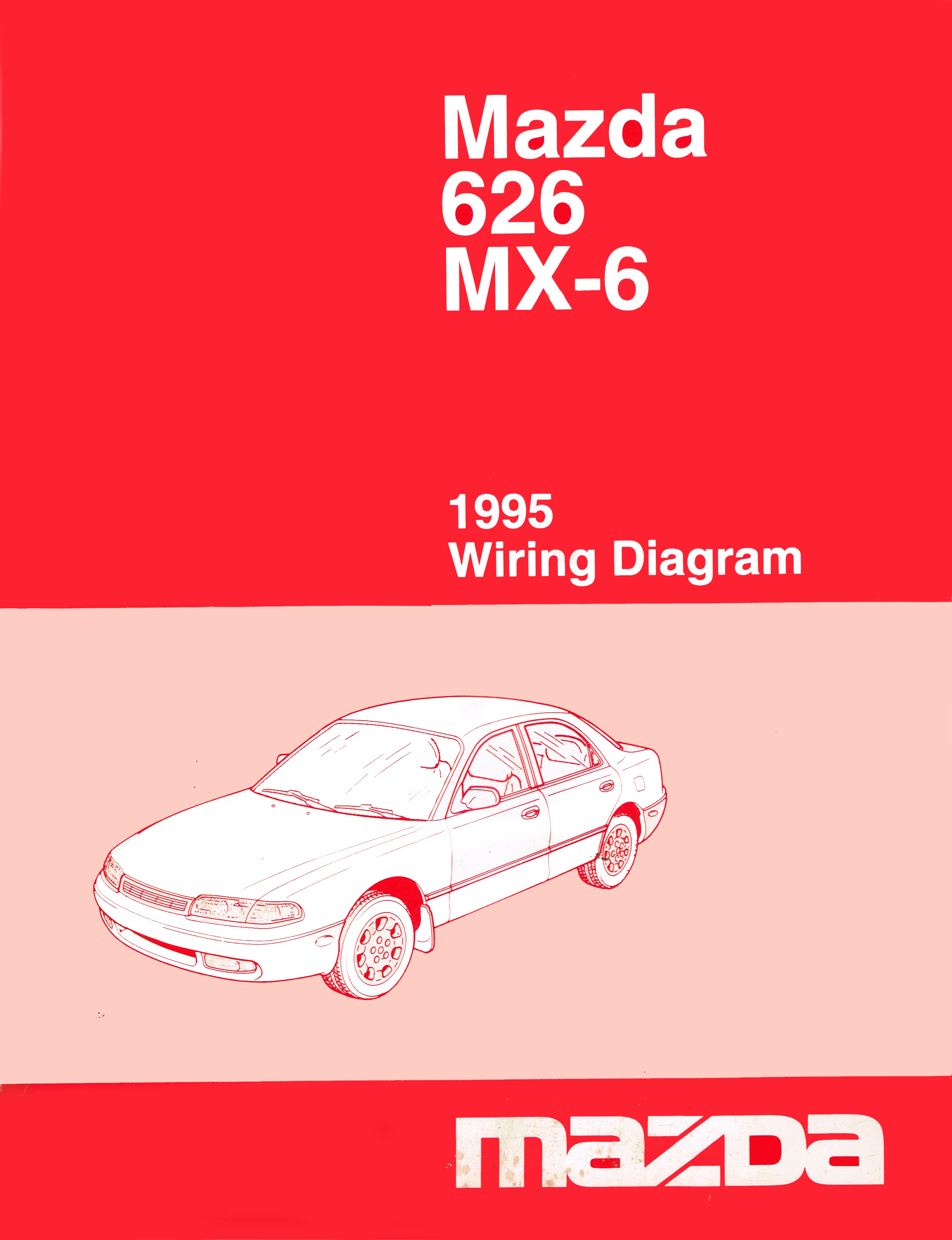 Pmx626 Info Us Mazda 626 Mx 6 Work Shop Manuals Scans 1995 Wiring Diagram