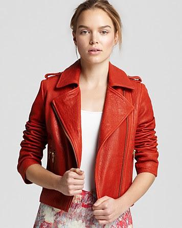 REISS Maya Moto Jacket
