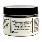 Ranger Ink - Tim Holtz - Distress Stickles Dry Glitter - Clear Rock Candy - 3 Ounces